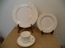 Lenox Debut Collection Hannah 4 Pc Set DINNER PLATE, SALAD PLATE, CUP & SAUCER