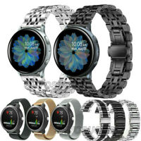 For Samsung Galaxy Watch 42mm 46mm R800 R810 Stainless Steel Wrist Band Strap