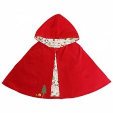 Powell Craft Girls Little Red Riding Hood Cape Age 3-6 Years.