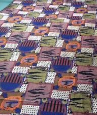 RACCOLTA: un metro (100 x 108 cm) di Nicosia Motivo Stampato Velluto