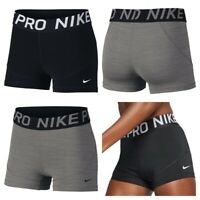 Nike Womens Shorts Ladies Pro Gym Training Short Inner Tights Size XS S M L XL
