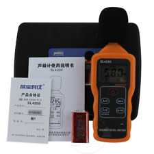 1PC New Handheld decibel meter SL4200 with USB connection