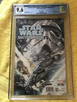 "Journey to Star Wars Force Awakens #1 CGC 9.6 ""Shattered Empire Variant Marvel"