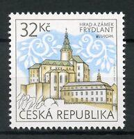 Czech Rep 2017 MNH Frydlant Castle Europa Castles 1v Set Architecture Stamps