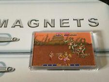 Golden Axe Fridge Magnet. Stage 1 Boss Battle. NEW. Retro Gaming. Arcade
