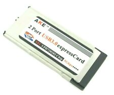 2 Ports Usb 3.0 Express card Expresscard 34mm Adapter for Laptop Computer