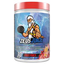 ZeusJuice Advanced Pre-workout Fruit Punch