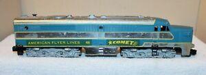 "American Flyer Lines No. 466 ""COMET"" PA Diesel Locomotive (Chrome Finish) !"