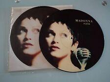 "MADONNA -RAIN-PICTURE MAXI-SINGLE-12 ""OPEN YOUR HEART TV PEUGEOT"