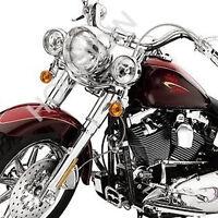 Harley softail flstc heritage chrome front end kit fork sliders lower legs
