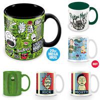 Rick And Morty Mug Coffee Tea Pickle Rick Heat Changing Mega Mug Official