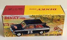 Hillman Dinky Vintage Manufacture Diecast Cars