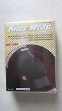 Safe T Gard breathable knee wrap with compression control straps One size 478 NE