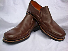SANDRO LIMITED SLIP ON LEATHER CASUAL/DRESS COMFORT SHOES BROWN-Great Condition