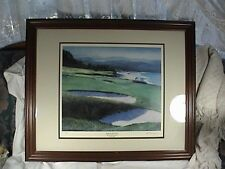 William Bill Pendergrass Limited Edition Print, # Nine By The Sea, Pebble Beach