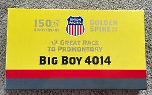 Athearn 4-8-8-4 Big Boy UNION PACIFIC 4014 Race to Promontory Ed. ATH40140 NIB