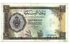 More details for libya (p27) 10 pounds 1963