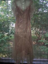 Susan Lane'S Country Elegance Vtg Lace Romantic victorian Downton Abbey Dress M