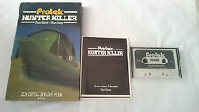 HUNTER KILLER SPECTRUM SINCLAIR ZX CAJA GRANDE 48K 128K PAL