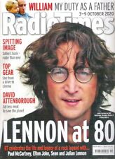 Radio Times Lennon at 80 Beatles 2020 Spitting Image Oct TV Magazine Collectable