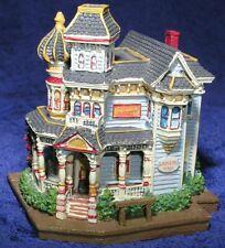 Liberty Falls Mini Porcelain Village House Gambling Hall Model Rr N Scale Mint