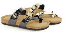Bio Rock Damen Toe Schleife Sandale Neu Sommer Schnalle gepolsterte Fußbett Urlaub