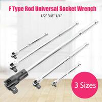 """F-Tipoe Universale Presa Chiave Rod 40mm 185mm 295mm Di 1/2""""3/8""""1/4"""" Breaker Bar"""