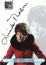 The Avengers 50th Anniversary Linda Thorson AV4 Auto Card