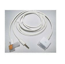 2-en-1 Usb 3,5 Mm Aux Audio Para Dock Cargador Cable De Datos Para Ipod Ipad Iphone