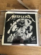 """NEW Metallica S&M2 12"""" FOIL PRINT LITHO Chase Center x/1200 **IN HAND 698-706**"""