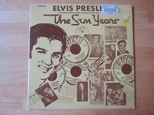 Sealed Elvis Presley LP, Sun Years - Interviews & Memories, SUN Records # 1001