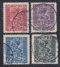 Kingdom SHS Croatia 1918 Proclamation of Croatia, used (o)