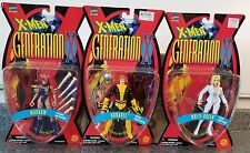 TOY BIZ X-MEN GENERATION X ACTION FIGURES LOT WHITE QUEEN BANSHEE MARROW R43