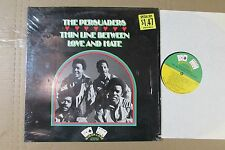 THE PERSUADERS thin line between love and hate STEREO OG LP sweet soul SHRINK NM