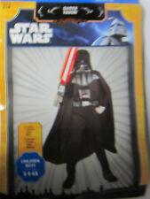 Boy Small 4 - 6X Star Wars Darth Vader Halloween Costume 3 Piece New Mask Cape