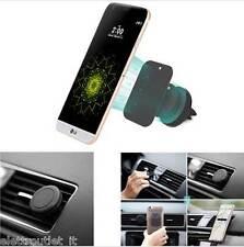 SUPPORTO MAGNETICO PORTA SMARTPHONE AUTO BOCCHETTE GRIGLIE ARIA PER LG G5 H850