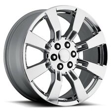 "4) 26"" Escalade Denali Wheels Rims Set Chrome Sierra Silverado Tahoe Yukon"
