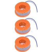 3 x Strimmer Trimmer Spool And Line Fits Bosch ART26 Combitrim
