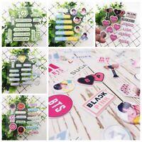 KPOP BLACKPINK TWICE GOT7 TXT SEVENTEEN Members Name Bubble Sticker Shns Seja