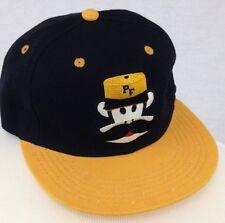 New Cap PF Monkey Mustache Monsieur Logo Baseball Snapback Hat Black Yellow
