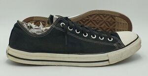Converse Chuck Taylor All Star Low Canvas Trainer X9166 Black UK12/US12/E46.5