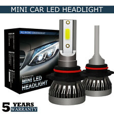 ESSGOO 72W 9006/HB4 LED Headlight Kit Fog Light Bulbs 9000LM 6000K White Xenon