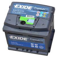 EXIDE PREMIUM Superior Power EA 472 12V 47AH Starterbatterie EN (A): 450