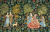 Dolls house Tapestry Printed Canvas Picture Hanging Miniature 1/24th #52