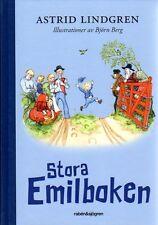 Buch Astrid Lindgren SCHWEDISCH Stora Emilboken Emil Michel Lönneberga, 2014,NEU