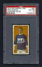 PSA 4 1910 C60 LaCROSSE CARD #96 FRED GAGNON