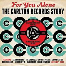 FOR YOU ALONE - THE CARLTON RECORDS STORY 1958 -1962 60 ORIGINALS (NEW 3CD)