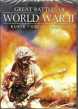 GREAT BATTLES OF WORLD WAR 2 - BRAND NEW ENGLISH DVD