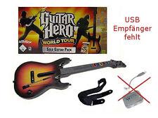 Guitar Hero World Tour Solo Gitarre PS3  kein USB Empfänger & Software