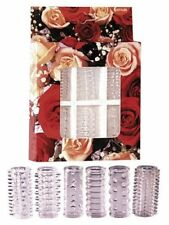 You2toys Set Guaine falliche Red Roses Penis Sleeves - cockring